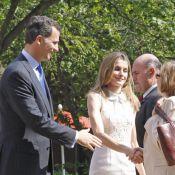Letizia d'Espagne, sublime avec son mari Felipe, illumine nos voisins américains
