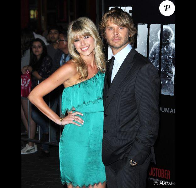 Eric Christian Olsen et Sarah Wright à Los Angeles en octobre 2011