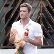 Justin Timberlake morose pendant que Jessica Biel s'expose à la plage