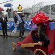 Survolté, le prince Joachim de Danemark n'a pas manqué d'animer la Classic Race 2012 à Aarhus, le 22 juin.