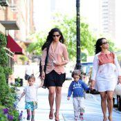 Camila Alves : Sage promenade avec ses adorables enfants