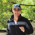 Matthew McConaughey dans les rues de New York fait son jogging matinal le 27 juin 2012