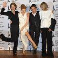Charlotte Rampling, Kylie Minogue, Denis Lavant et Edith Scob à l'avant-première de  Holy Motors  lors du Festival Paris Cinéma, le 27 juin 2012.