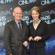 Christophe Gérard et Charlotte Rampling à l'avant-première de  Holy Motors  lors du festival Paris Cinéma, le 27 juin 2012.