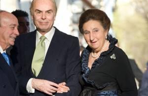 L'infante Margarita d'Espagne, soeur du roi Juan Carlos, hospitalisée