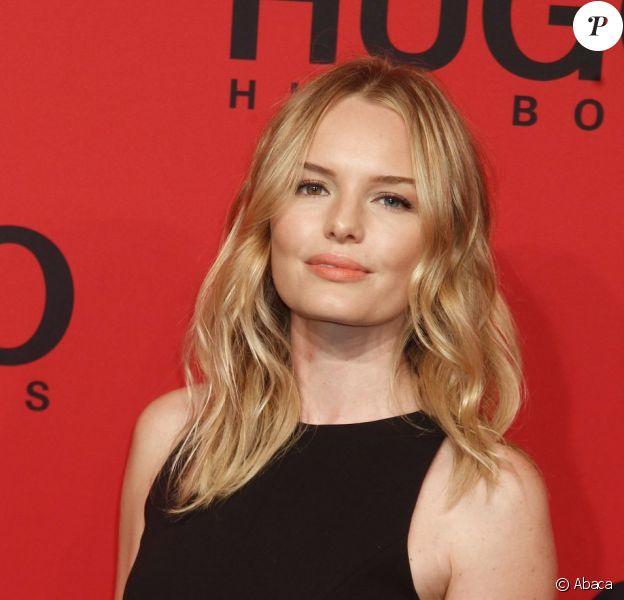 Kate Bosworth lors de la présentation de la collection printemps-été Hugo Boss à Berlin pendant la Fashion Week. Le 5 juillet 2012