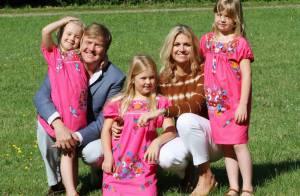 Princesse Maxima : Avec son mari et leurs filles, la vie en rose en vacances