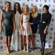 Mel B, Mel C, Geri Halliwell, Emma Bunton, et Victoria Beckham le 26 juin 2012 à Londres