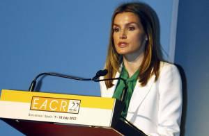 Letizia d'Espagne, superbe pour un nouveau message d'espoir contre le cancer