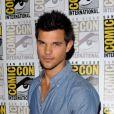 Taylor Lautner lors de la présentation durant le Comic-Con à San Diego de Twilight - chapitre 5 : Révélation (2ème partie) le 12 juillet 2012