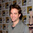 Robert Pattinson lors de la présentation durant le Comic-Con à San Diego de Twilight - chapitre 5 : Révélation (2ème partie) le 12 juillet 2012