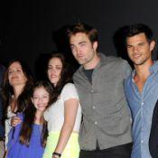 Twilight 5 : Robert Pattinson, Kristen Stewart et Taylor Lautner soudés !