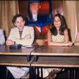 Patrick Dewaere et l'équipe du film Série Noire, le réalisateur Alain Corneau, Marie Trintignant et Myriam Boyer, au Festival de Cannes 1979