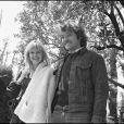 Patrick Dewaere et Miou-Miou en 1974