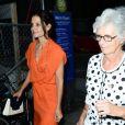 Katie Holmes et sa maman Kathleen sont allées prendre un café à New York, le 13 juillet 2012