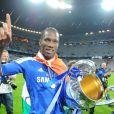Didier Drogba, gagne la Ligue des Champions le 19 mai 2012