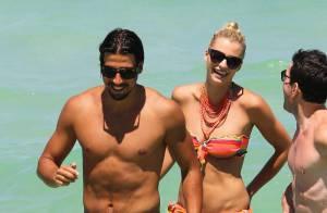 Sami Khedira et sa belle Lena Gercke : Vacances au soleil, ils profitent à fond