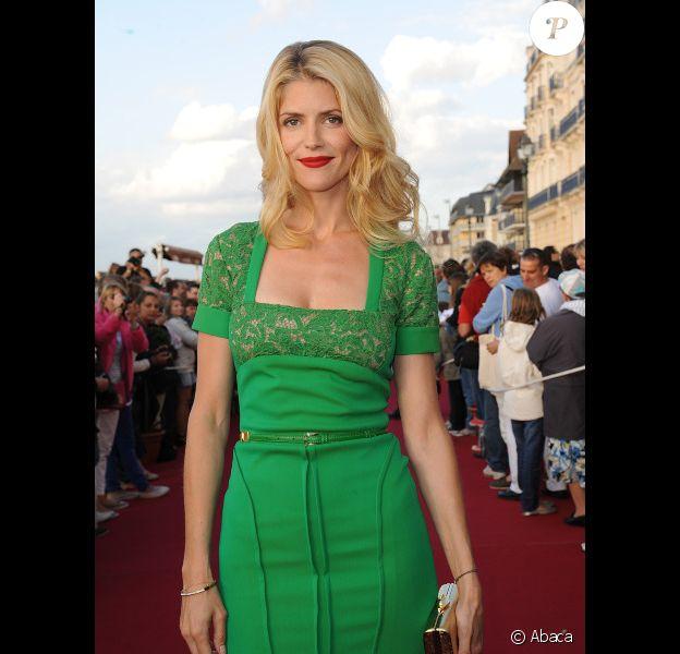Alice Taglioni au festival de Cabourg en juin 2012