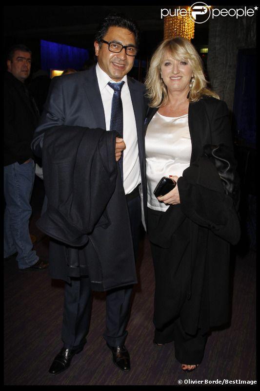 Charlotte de Turckheim et son compagnon Zaman en février 2012 à