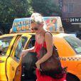 Kate Hudson ravie à l'idée de passer quelques jours avec son homme Matthew Bellamy à New York le 17 juillet 2012