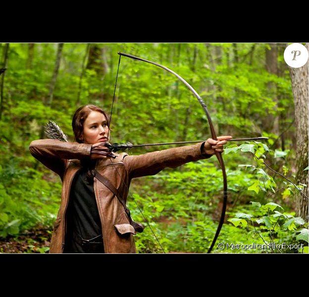 Jennifer Lawrence est Katniss dans Hunger Games
