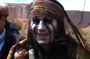 The Lone Ranger : Johnny Depp méconnaissable en Indien