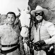 Jay Silverheels et Clayton Moore dans  The Lone Ranger  (1951)