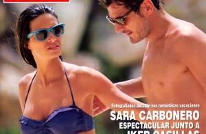 Sara Carbonero déesse en bikini avec Iker Casillas aux Iles Vierges