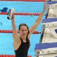 Camille Muffat est entrée dans l'histoire après être devenue championne olympique du 400m nage libre lors des Jeux olympiques de Londres le 29 juillet 2012