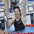 Camille Muffat est devenue championne olympique du 400m nage libre lors des Jeux olympiques de Londres le 29 juillet 2012