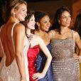 Zoe Bell, Rose McGowan, Tracie Thoms et Rosario Dawson en mai 2007 à Cannes.