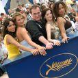 Rosario Dawson, Zoe Bell, Quentin Tarantino, Rose McGowan et Tracy Thoms à Cannes en mai 2007.