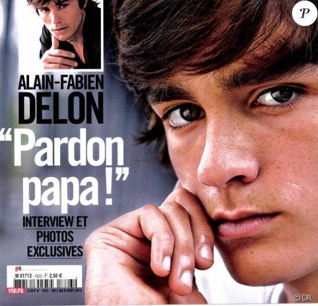 Retrouvez l'interview d'Alain-Fabien Delon dans VSD, 2 août 2012.