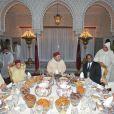 Le roi Mohammed VI du Maroc a donné à Rabat le 30 juillet 2012 une réception au palais royal, entouré de son fils et héritier le prince Moulay Hassan, de son frère le prince Moulay Rachid, et de son cousin le prince Moulay Ismail, à l'occasion du 13e anniversaire de son couronnement, parallèlement à la Fête du Trône.