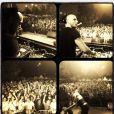 "DJ Jey Didarko, le mari de Clara Morgane, lors du concert ""ON THE BEACH"" à Liège le 2 août 2012"