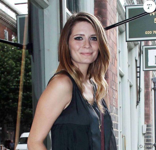 Mischa Barton, la forme retrouvée, inaugure sa boutique au 53 Brushfields Street dans le quartier marchand de Spitalfields. Londres, le 8 août 2012.