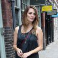Mischa Barton assiste à l'ouverture de sa boutique sur Brushfields Street dans le quartier de Spitalfields. Londres, le 8 août 2012.