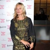 Kate Moss : Un look bien étrange pour un dîner VIP avec Naomi Campbell...