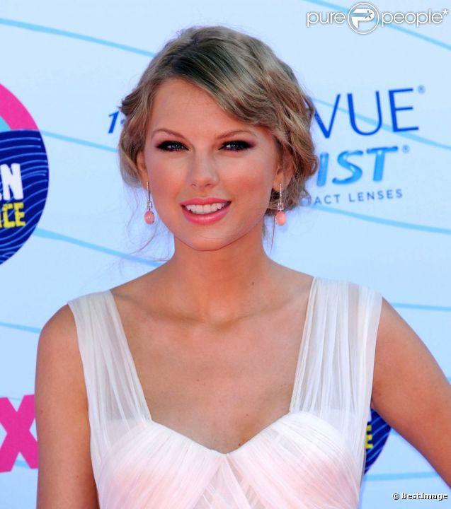Taylor Swift à Los Angeles le 22 juillet 2012