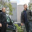 Christophe Lambert et Chris O'Donnell dans NCIS Los Angeles