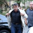 Sylvester Stallone va au restaurant avec sa femme et ses filles à Paris le 10 août 2012