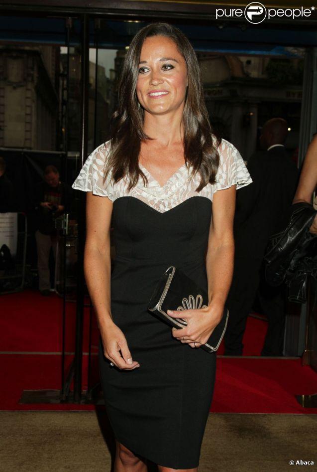 Pippa Middleton à la première de Shadow Dancer à Londres le 13 août 2012