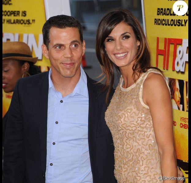 Elisabetta Canalis et Steve-O lors de l'avant-première du film Hit and Run à Los Angeles le 14 août 2012 : ils officialisent leur réconciliation amoureuse
