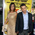 Elisabetta Canalis et Steve-O lors de l'avant-première du film Hit and Run à Los Angeles le 14 août 2012