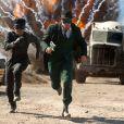 Seth Rogen et Jay Chou dans  The Green Hornet.