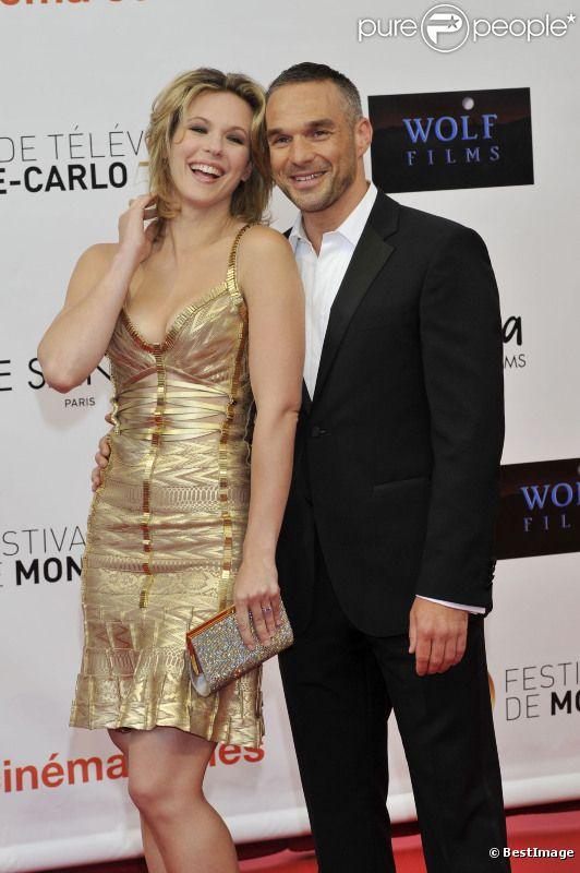 Lorie et Philippe Bas le 10 juin 2012 à Monte-Carlo