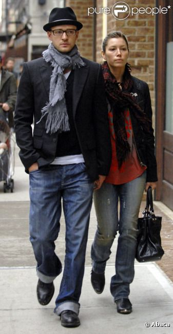 Justin Timberlake couple