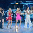 Les Spice Girls durant la cérémonie de clôture des Jeux olympiques de Londres, le 12 août 2012.