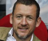 Dany Boon lors du match du Paris Saint Germain face à Lorient au Parc des Princes à Paris le 11 août 2012