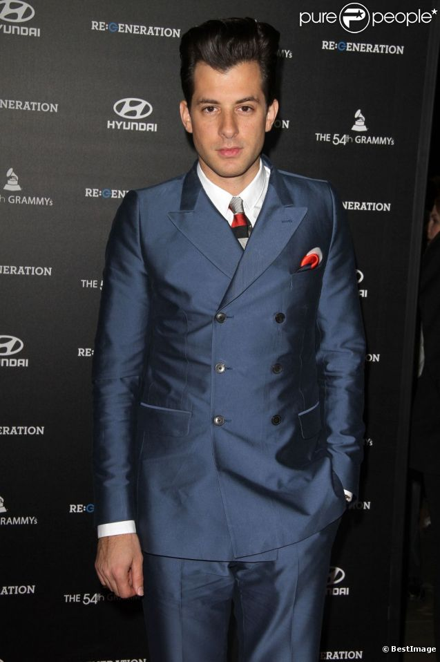 Mark Ronson à Los Angeles, le 9 février 2012.